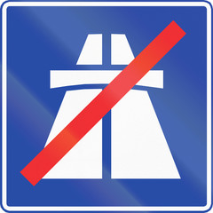 End Of Motorway in Chile