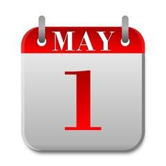 May Day Calendar - illustration