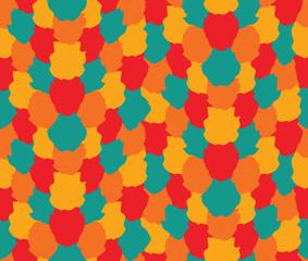 Colorful Blots Pattern