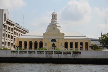 Riverside in Chao Phraya River.
