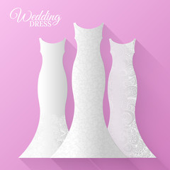 wedding beautiful suits clothing ornamental style card