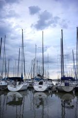 Storm Over Marina