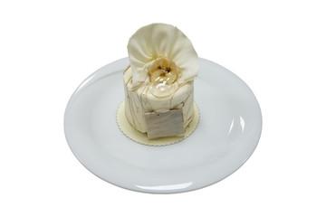servise hazır muzlu pasta