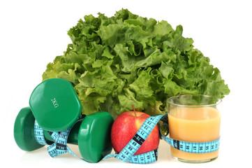 Nourriture, sport et régime