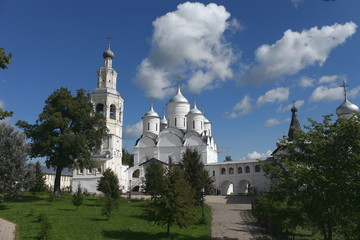 Spaso-Prilutsky  monastery Vologda Russia