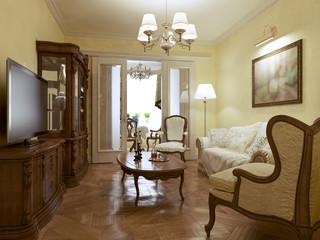 Living room english style