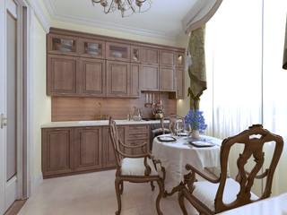 Luxury kitchen english style