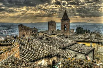 I tetti di Certaldo