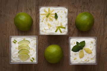 Lemon & Lime Tiramisu'