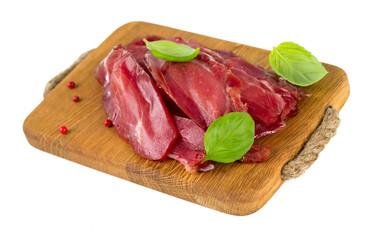 smoked turkey meat