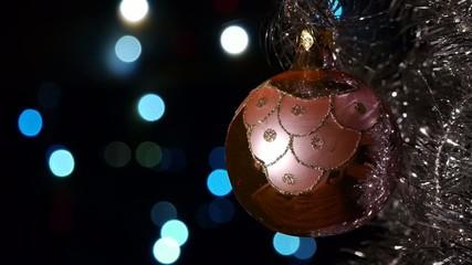 Christmas decorations - Christmas lights - Bokeh effect