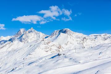 Pennine Alps on the Italian-Swiss border