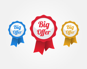 Big Offer Ribbons