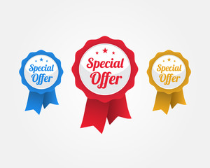 Special Offer Ribbons