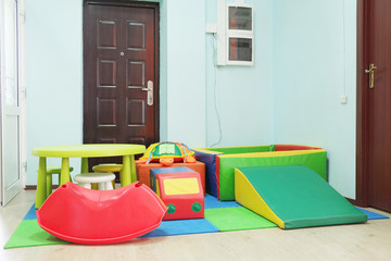 Empty children's playroom