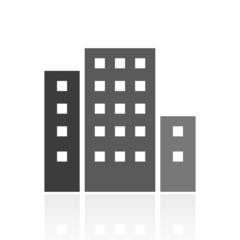 Color Office Building icon