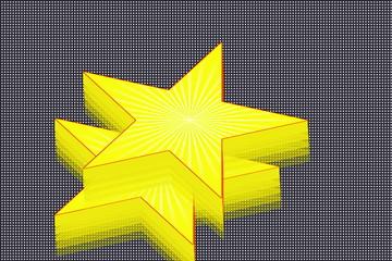 3 d star design