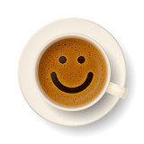 Fototapety Coffee cup for good mood