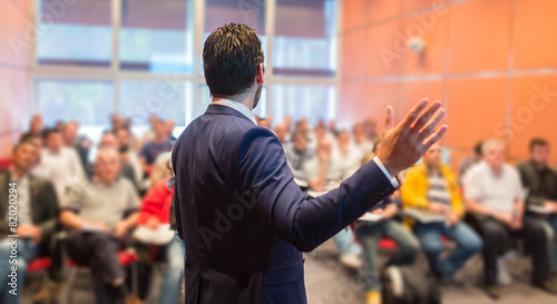 Speaker at Business Conference and Presentation. - 82020294