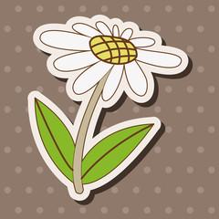 flower theme elements vector,eps