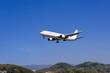 山と飛行機