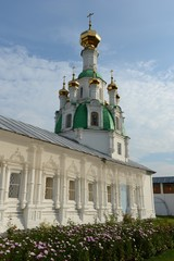 Orthodox women's monastery in Yaroslavl