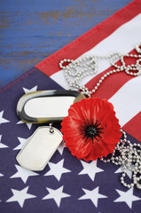 USA Memorial Day concept.