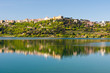 Leinwanddruck Bild - Castel Gandolfo Lago Albano