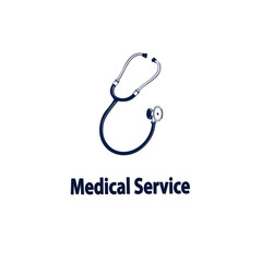 Medical service with stethoscope