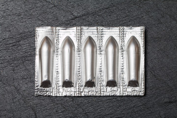 package of suppository