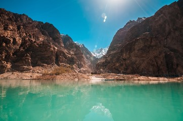 Attabad Lake in Northern Pakistan