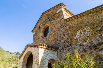 Evocative religiosity of a Romanesque Church