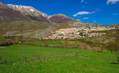 Borgo medievale in Abruzzo