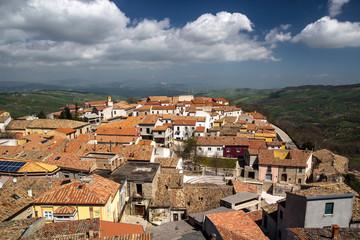 Panorama  dal Castello Ducale di Bisaccia (Avellino)