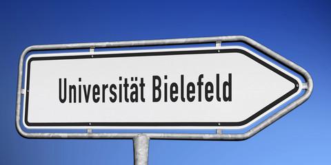 Wegweiser Uni Bielefeld