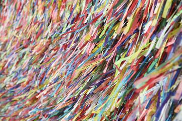 Fita do Bonfim Brazilian Wish Ribbons Salvador Bahia Brazil