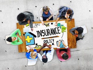 Insurance Policy Help Legal Care Trust Protection Concept