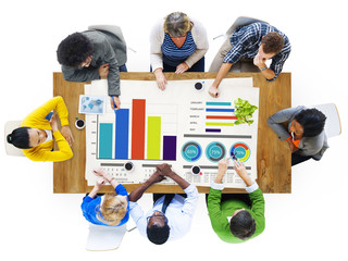 Diversity Business People Strategy Planning Ideas Concept