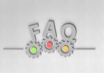 FAQ - Typografie - Zahnrad