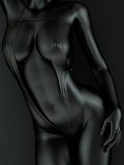 Black Female Body Art