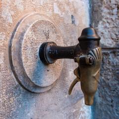 Grifo antiguo. Albarracín. Teruel. España
