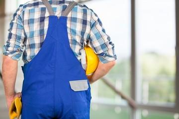 Worker. Blue collar worker.