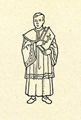 Altar server in the Catholic Church (Mass dress)