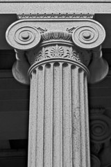 column architectural detail and symbolism