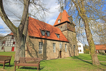 Tiefengruben: Kirche St. Nikolaus (1686, Thüringen)