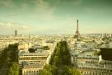 Paris. Filtered retro style.