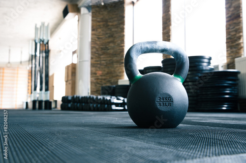 Closeup image of a fitness equipment - 82048257