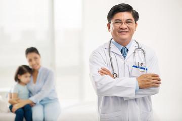 Vietnamese pediatrician