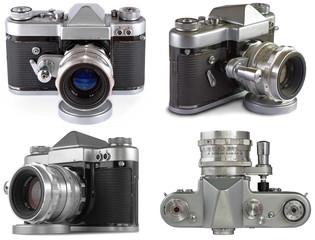 Retro 35 mm Film SLR Photo Camera