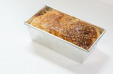homemade bread taste snack oven concept
